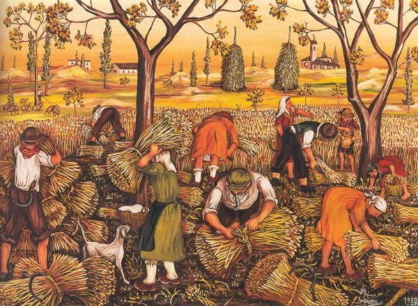 Harvest by Annunziata Scipione